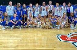 Dodd City Lady Hornets win state championship