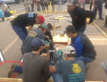 The DCHS Robotics Team will be competing at the UIL Sanctioned CoCo BEST Robotics Competition at Eri