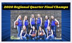 Dodd City Lady Hornets Regional quarter finals CHAMPS