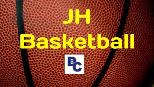 JH Basketball Schedule