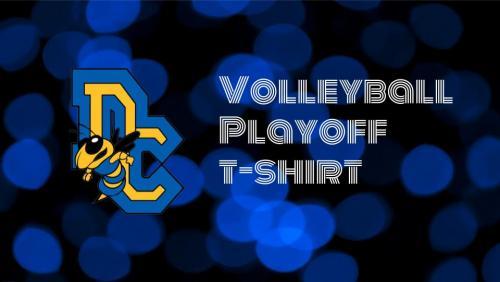 volleyball playoff tshirt