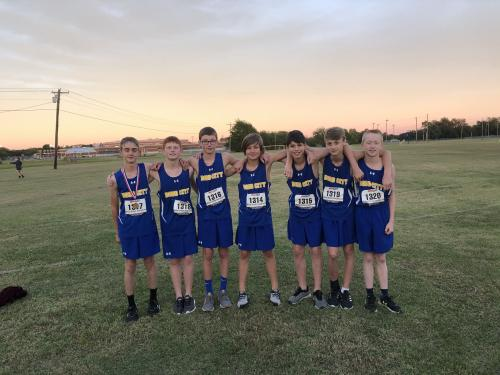 JH Cross Country Boys