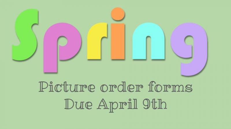 spring pictures due april 9th