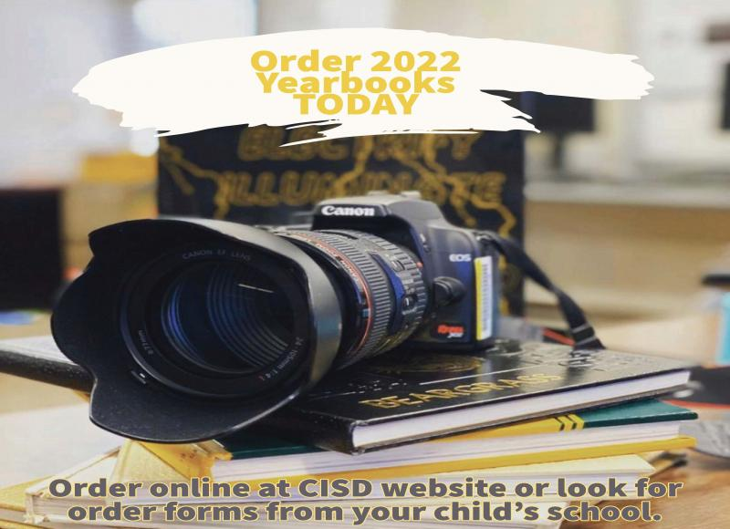 Order Your CISD Yearbook Today