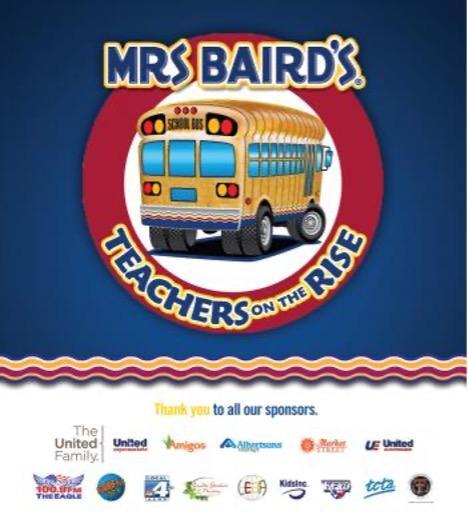 Nominate A Deserving Teacher as a Mrs. Baird's Teacher on the Rise Today