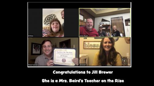 jill brewer teacher on the rise