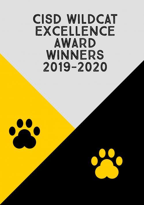 CISD Wildcat Excellence Award Winners