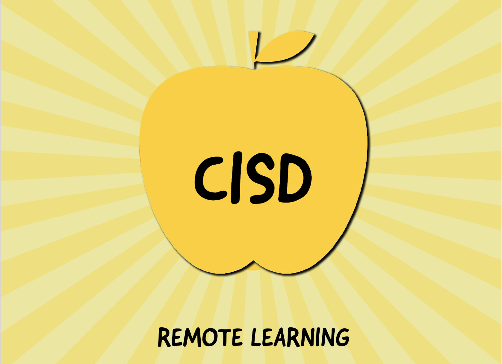 CISD Remote Learning Button