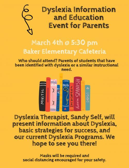 Dyslexia Parent Night
