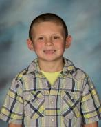 Corbin Casey; December Pre-K - 2nd Grade Student of the Month