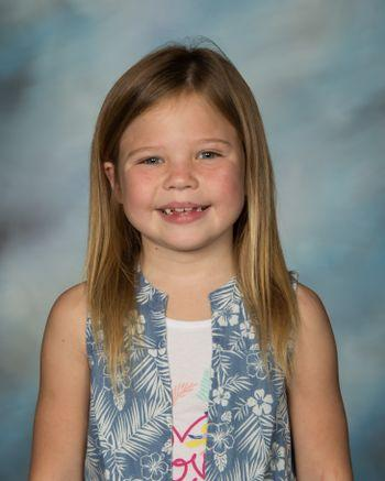 Lisa Barnes; March  Pre-K - 2nd Student of the Month