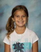 Kaylee Hatfield; October 3rd - 5th Grade Student of the Month