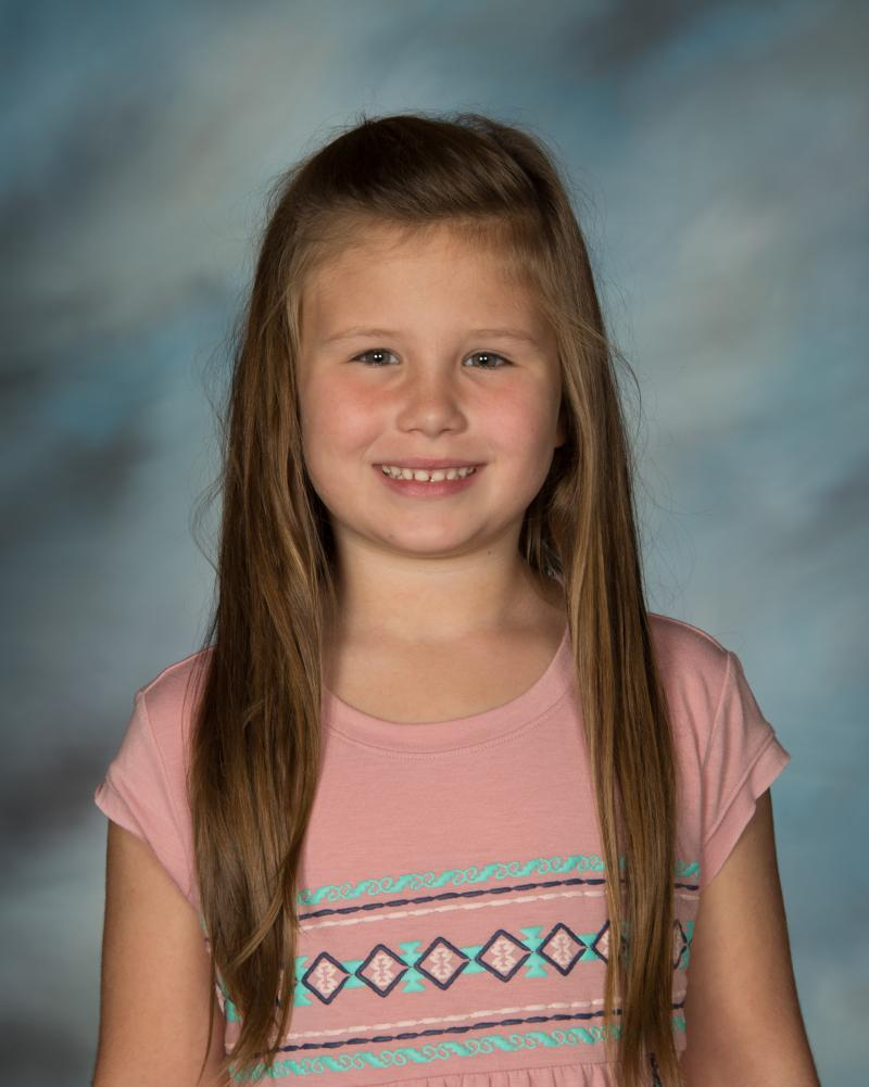 Maudey Elmore; Pre-K - 2nd Grades Student of the Year