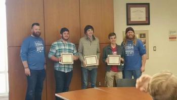 students that placed 3rd at Sooner code competition