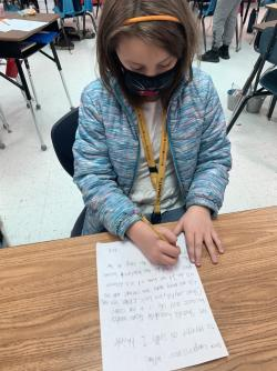 Reading sparks action in Clements/Parsons Elementary students
