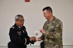 Cove JROTC instructor honored for recruitment efforts
