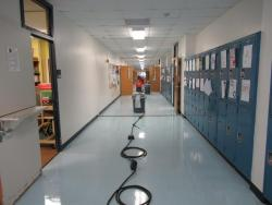 CCISD Maintenance staff work to repair schools