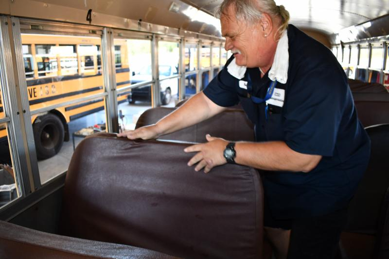 Cove school bus drivers prepare for student transportation in fall