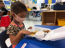 CCISD students fed whether learning on-campus or virtually