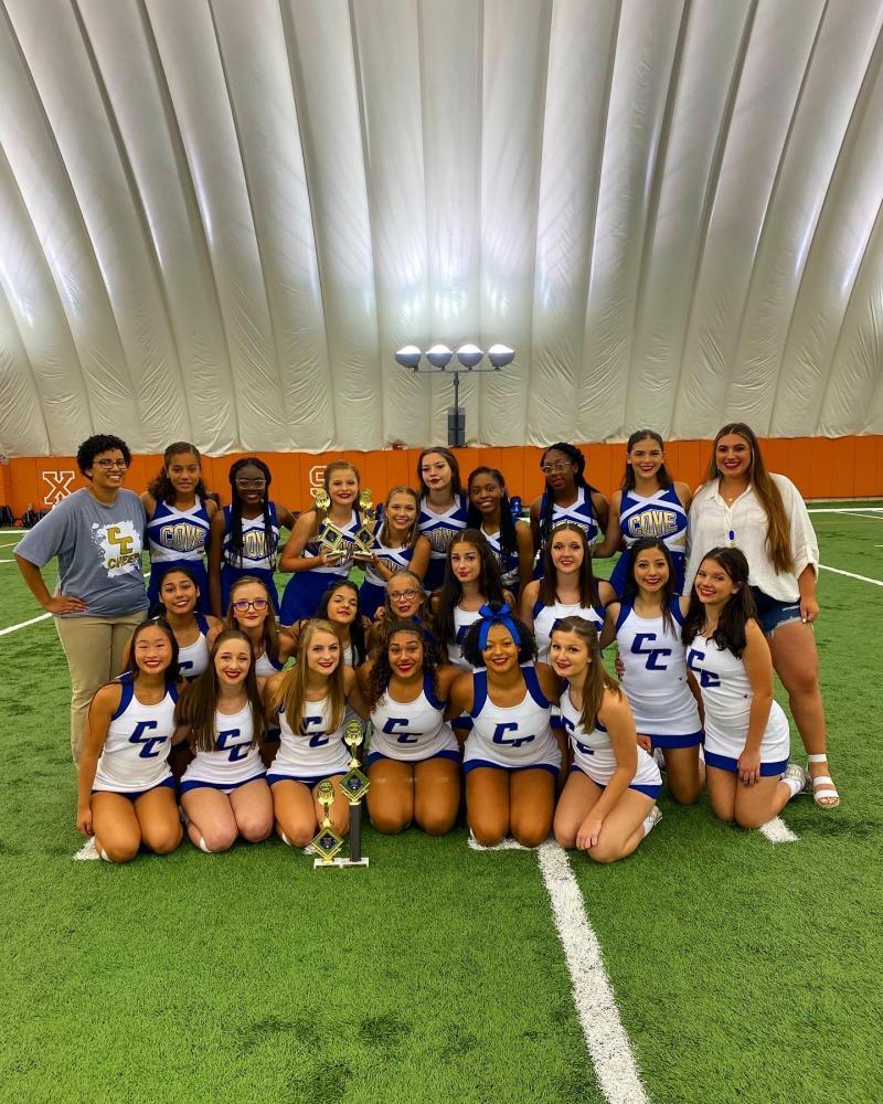 Cove High produces three varsity and three JV All-American cheerleaders