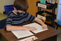 Pen pal letter-writing provides multiple life lessons