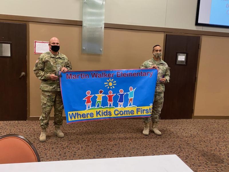 Martin Walker Elementary serves students through military partnership