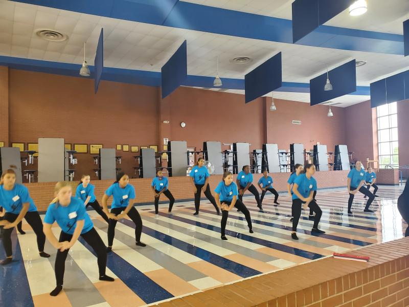S. C. Lee Cougarettes dance away with awards at summer camp