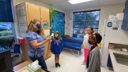 School nurses build stronger rapport with students amid pandemic