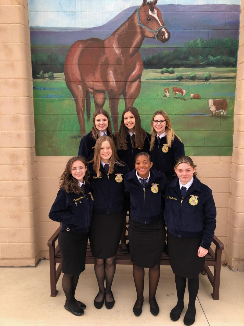 Cove FFA member elected District president