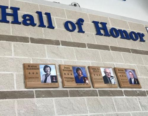 Hall of Honor with pictures