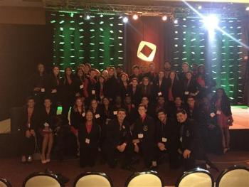 Group Photo of 2015 CCHS DECA Winners - See Names Below