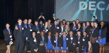 CCHS DECA 2014 Winners