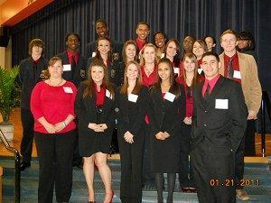 Group Photo - CCHS DECA 2011 Winners