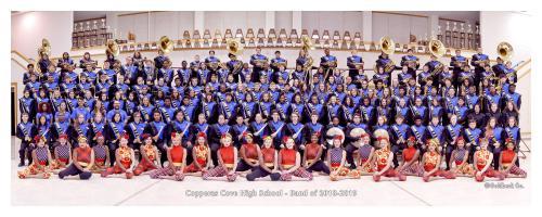 2018-2019 Pride of Cove Band