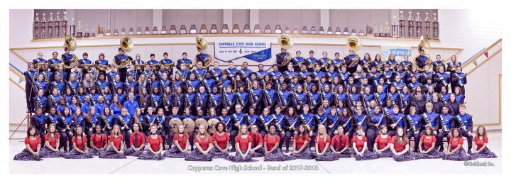 CCHS Pride of Cove Band - Fall 2017