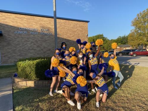 ccjhs cheerleaders