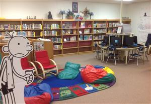 Fairview/Miss Jewell Library Reading Area