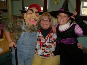 Jaxcen, Mrs. Dunkin, and Brooke