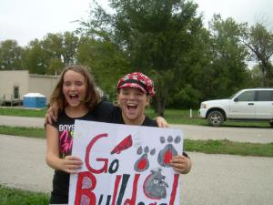 GO BULLDOGS!!!!  Thanks Jaxcen and Ally!