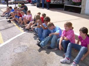 Our Class at the Homecoming Parade  10/7/11