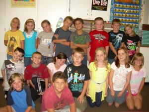 Mrs. Friend's 4th Grade Class