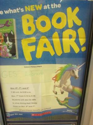 Book Fair 2018 - Thanks, Mrs. Pracht!