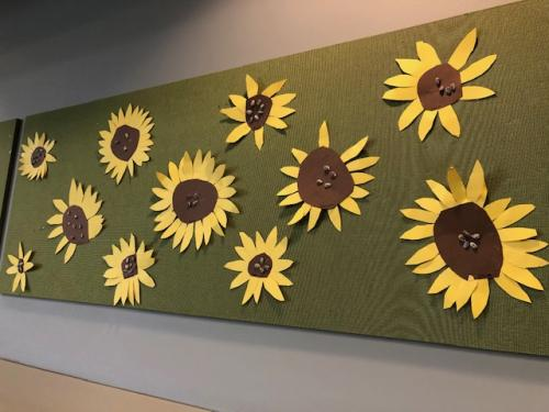 HallwaySunflowers1