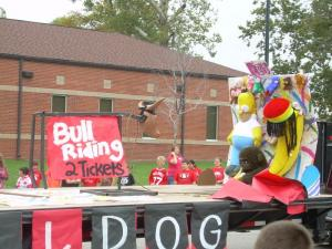 I believe this was the freshman float.