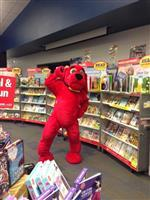 Clifford the Big Red Dog at the Bookfair