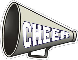 Clipart of a Cheer Megaphone