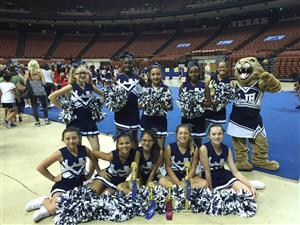 SC Lee Cheer Squad at the Cheer Camp Awards Ceremony