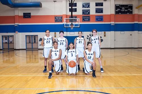 Lady Cougar 8th Grade B Team