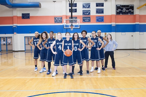Lady Cougar 7th Grade A Team