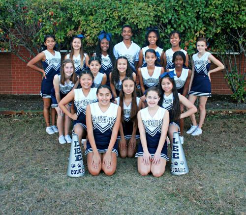 Cougarette Cheer Leaders